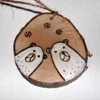 Деревянная игрушка Медведики