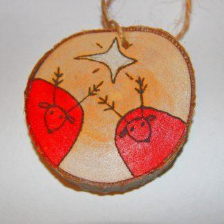 Деревянная игрушка Олени