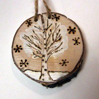 Деревянная игрушка Береза